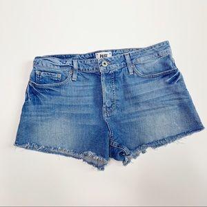 PAIGE | Emmitt Cut Off Jean Shorts | 29